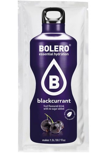 Bolero Limonade Blackcurrant with Stevia