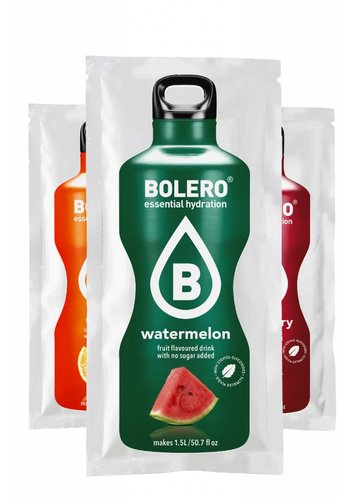 Bolero Limonade 3 flavours trial package