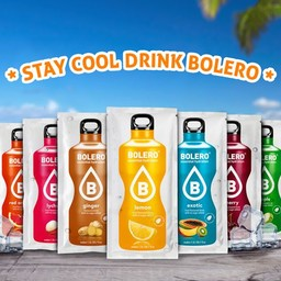 Bolero Limonade Bolero Drinks- FREE* 4 FLAVOURS trial package