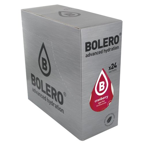 Bolero Cranberry met Stevia | 24 stuks