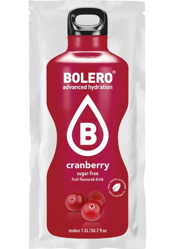 Bolero Limonade Cranberry with Stevia