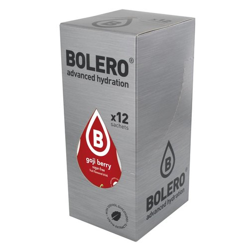 Bolero Goji Berry 12 sachets with Stevia