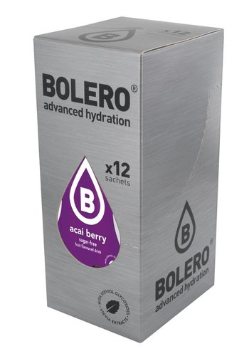 Bolero Limonade Açai Berry 12 sachets with Stevia