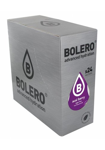 Bolero Limonade Açai Berry 24 sachets with Stevia