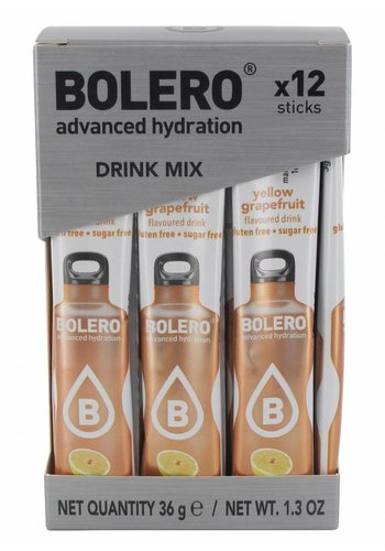 Bolero STICKS - Yellow Grapefruit