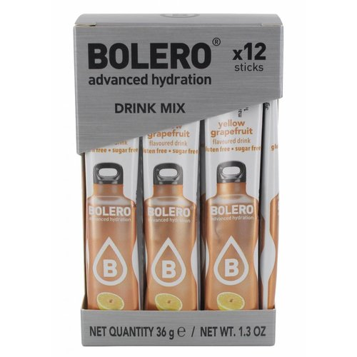 Bolero STICKS - Yellow Grapefruit
