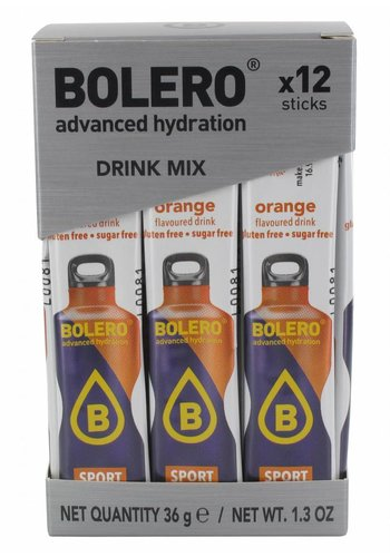Bolero Limonade Sticks - SPORT Orange