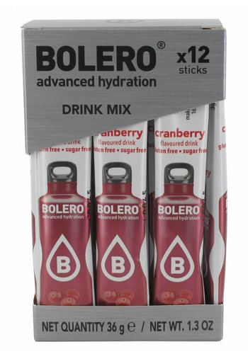Bolero Limonade Sticks - Cranberry
