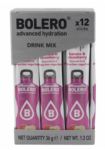 Bolero Limonade Sticks - Banana & Strawberry