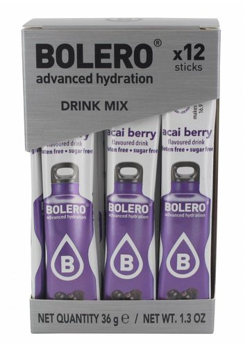 Bolero Limonade Sticks - Acai Berry