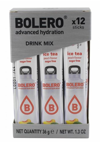 Bolero Limonade Sticks - ICE TEA Peach