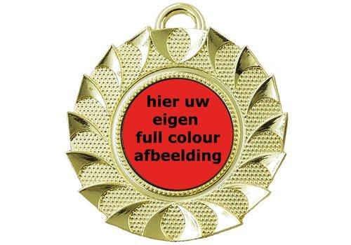 Medailles met eigen afbeelding/logo
