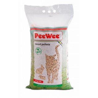 PeeWee PeeWee houtkorrels - 9kg