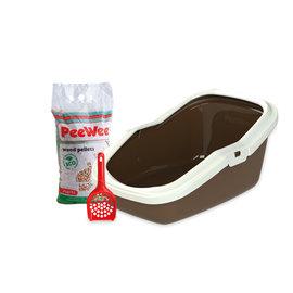PeeWee Startpakket EcoMinor bruin/ivoor