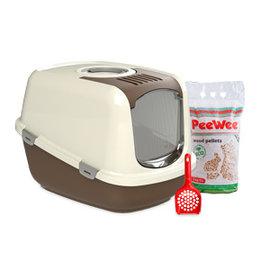 PeeWee Startpakket EcoDome bruin/ivoor