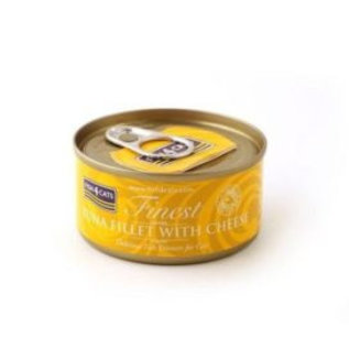 Fish4Cats Finest F4Cats Tuna Fillet Cheese 70g