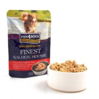 fish4dogs Finest Salmon Mousse for Dogs 100g