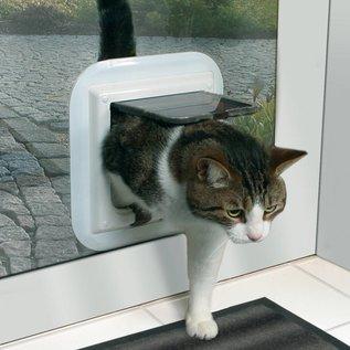 Trixie Kattenluik 4 standen -voor glas