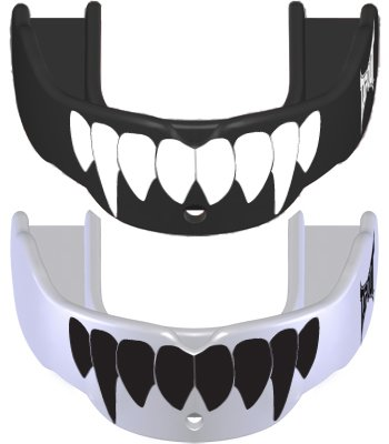 Tap Out Fang - Gebitsbeschermer met tanden