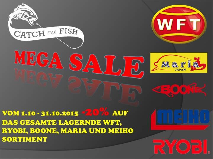 MEGA-Sale im Oktober