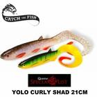 Yolo Curly Shad 21cm