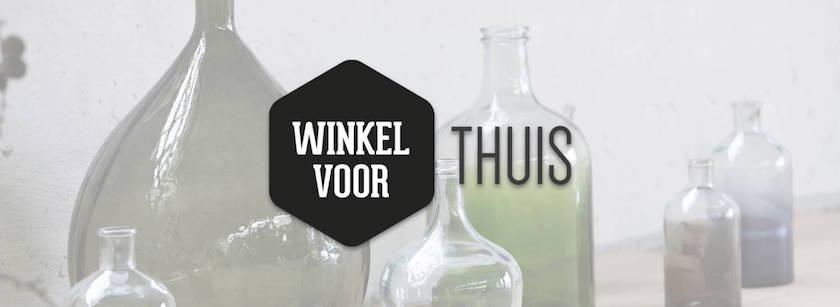 Nieuw logo voor Winkel voor Thuis. inspiratie bij Winkel voor Thuis.