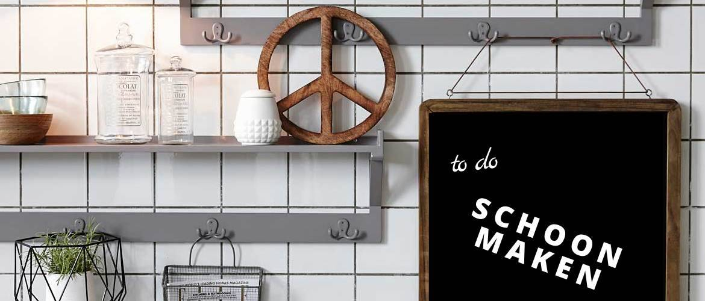 Maak jouw krijtbord ook snel en makkelijk schoon. blog bij Winkel voor Thuis.