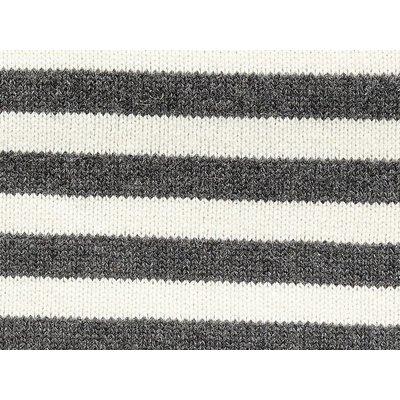 Hubsch plaid, lamswol, zwart/wit strepen, 130x200cm. Hubsch 45455291