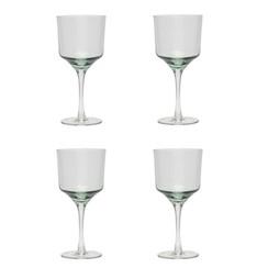 Hubsch wijnglazen rode wijn - helder glas - 4st.