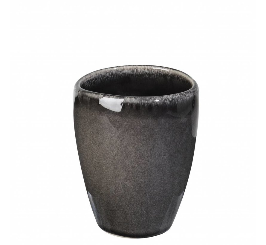 beker Nordic Coal zwart - 0,25 L