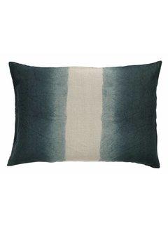 Nordal sierkussenhoes Tie-Dye donkerblauw/beige 50 x 70 cm. Nordal 53638790