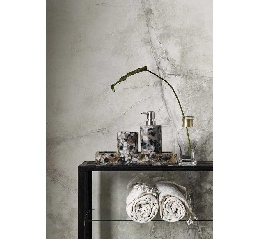 hammamdoek beige/wit - 90 x 170 cm