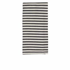 Broste Copenhagen keukendoek Stripe wit/zwart - 2st.