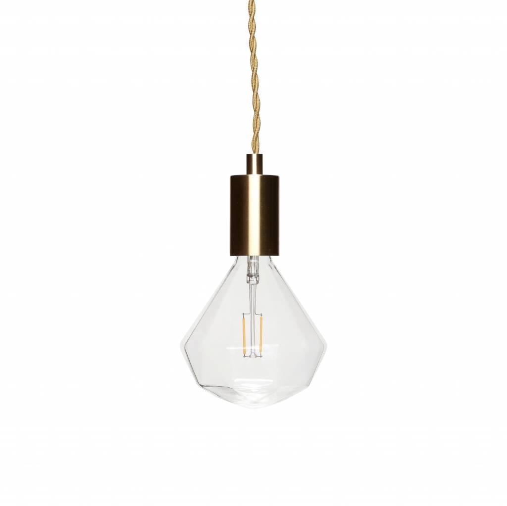 hanglamp goudkleurig