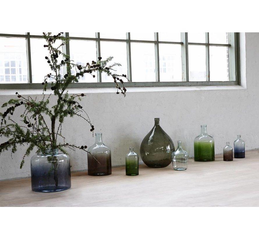 fles/vaas groen glas