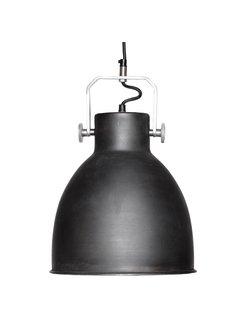 Hubsch hanglamp zwart metaal