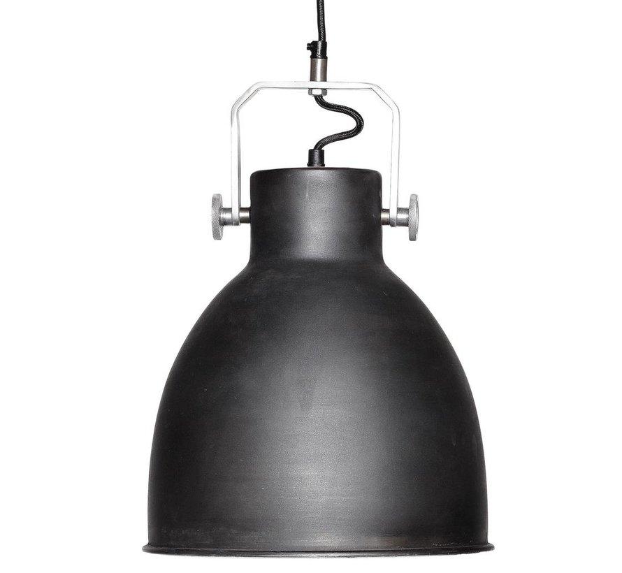 Hanglamp - 329001 - 29 x H41 cm - Zwart