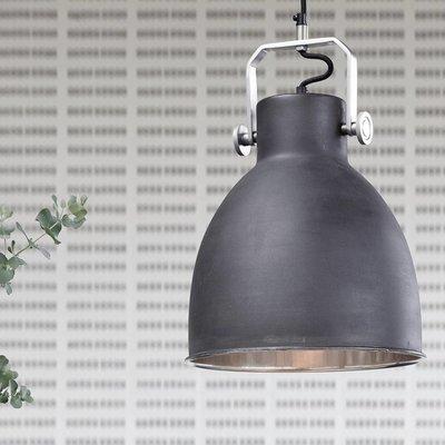 Hubsch Hanglamp - 329001 - 29 x H41 cm - Zwart. Hubsch 61982117