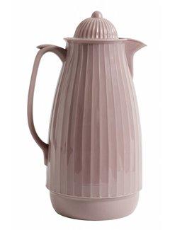 Nordal thermoskan roze kunststof/glas
