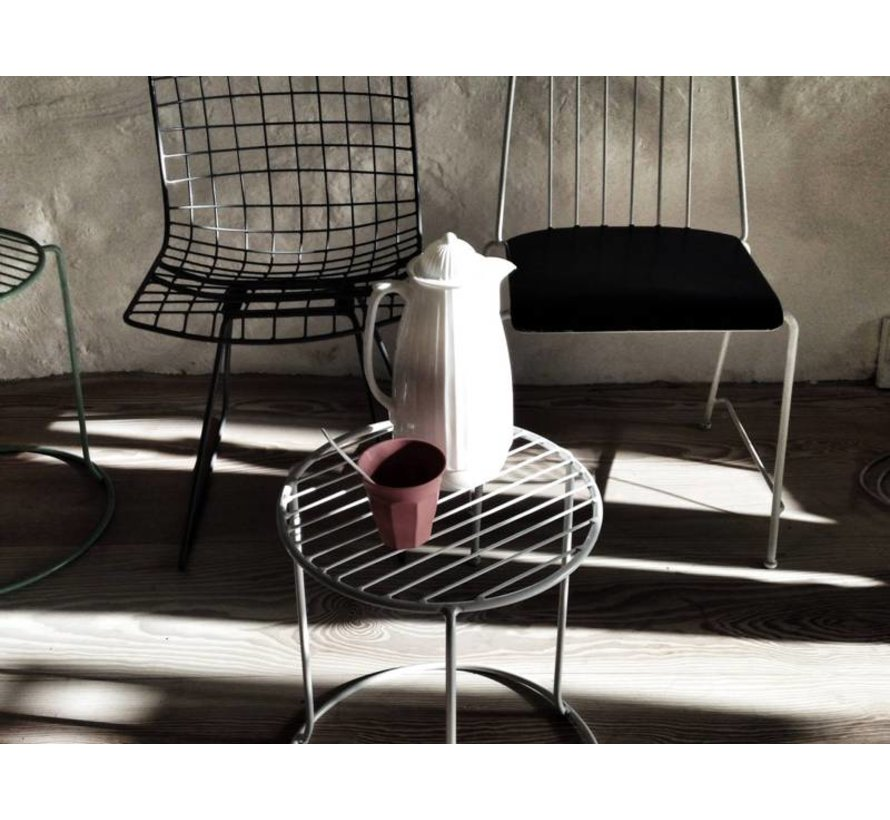 thermoskan roze kunststof/glas