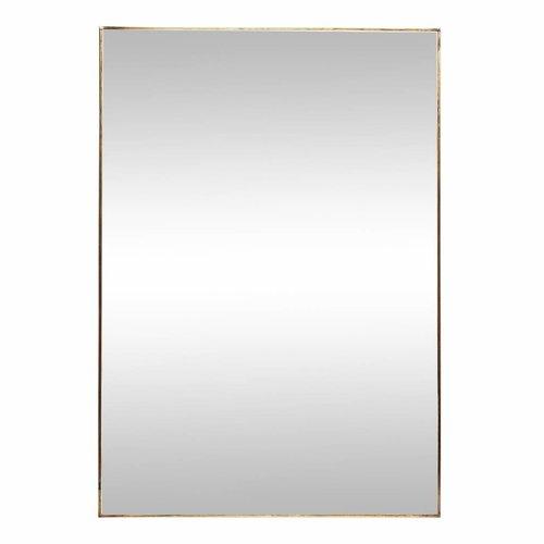 Hubsch spiegel goud metaal