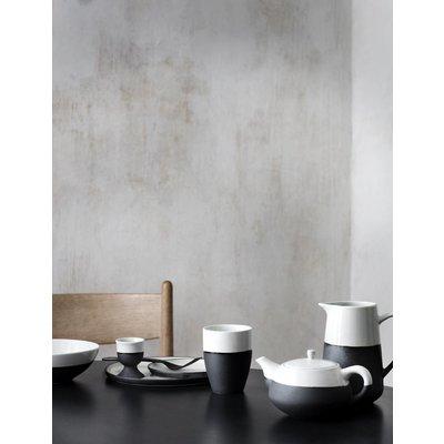Broste Copenhagen beker grijs/ivoor aardewerk. Broste Copenhagen 68301566