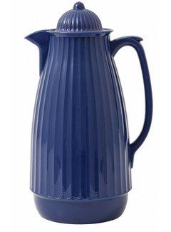 Nordal thermoskan blauw kunststof/glas