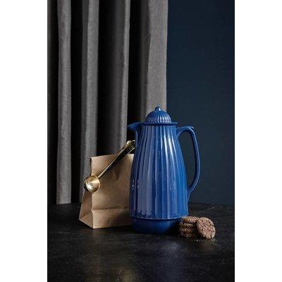 Nordal thermoskan blauw kunststof/glas. Nordal 70033847