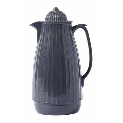 Nordal thermoskan grijs kunststof/glas. Nordal 70034162