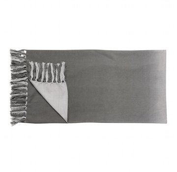 Hubsch plaid grijs katoen