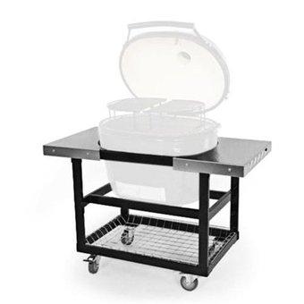 Primo metal cart met RVS zijtafels