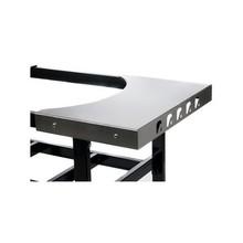 Primo RVS zijtafels voor cart (2)