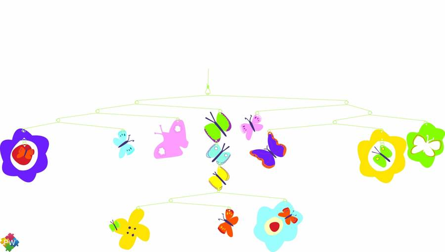 Djeco Mobiles Vlinders (van 0 tot 99 jaar!)