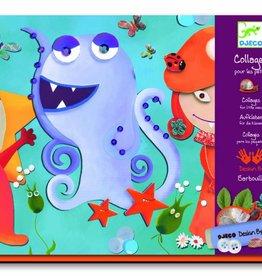 Djeco Collage Voor De Kleintjes Monsters
